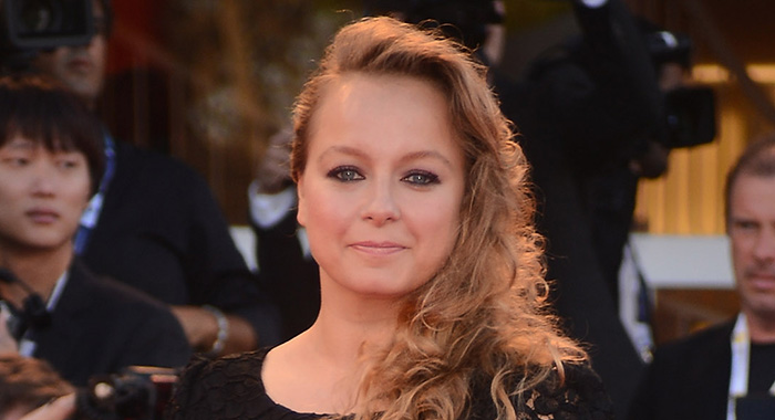"""VENICE, ITALY - AUGUST 29: Jury member actress Samantha Morton attends """"The Reluctant Fundamentalist"""" Premiere and Opening Ceremony during the 69th Venice Film Festival at Palazzo del Cinema on August 29, 2012 in Venice, Italy. (Photo by Ian Gavan/Getty Images for Jaeger-LeCoultre)"""